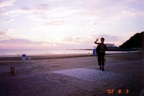 sea sky geotagged kyushu musashicyclo 武蔵大学サイクリング部 2002kibusuki cyclememories cyclememories4d geo:lon=1314818 2002kibusuki2 cyclomembers geo:lat=31786916 seacyclo