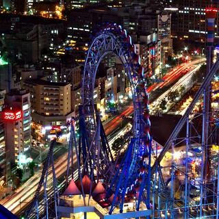amusement grounds