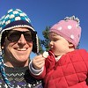 Self portrait with daughter and stupid hat #sydneywinter #nofilter #sydneypark