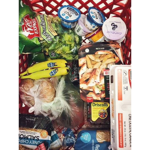 Just look at that healthy cart!
