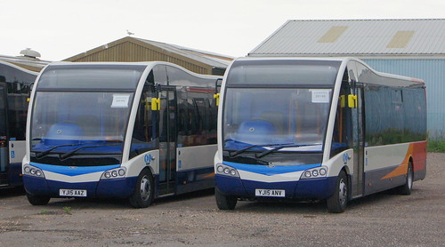 Stagecoach Norfolk YJ15 AAZ and YJ15 ANV (c) David Bell