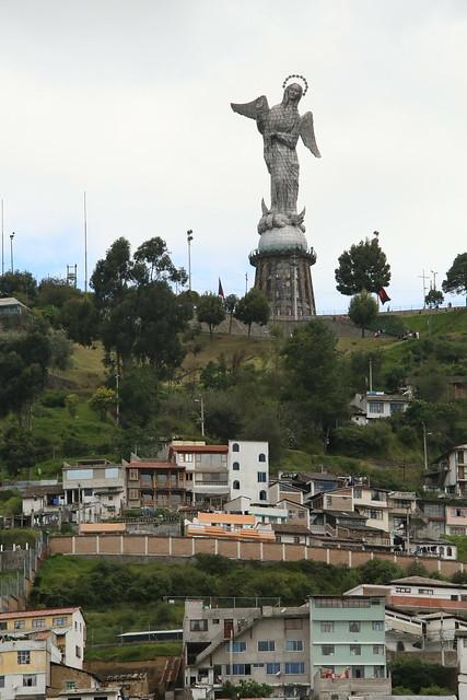 Loma El Panecillo.   Quito, Ecuador.
