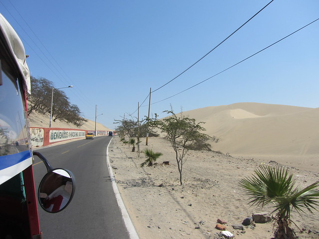 On the Road to Huacachina