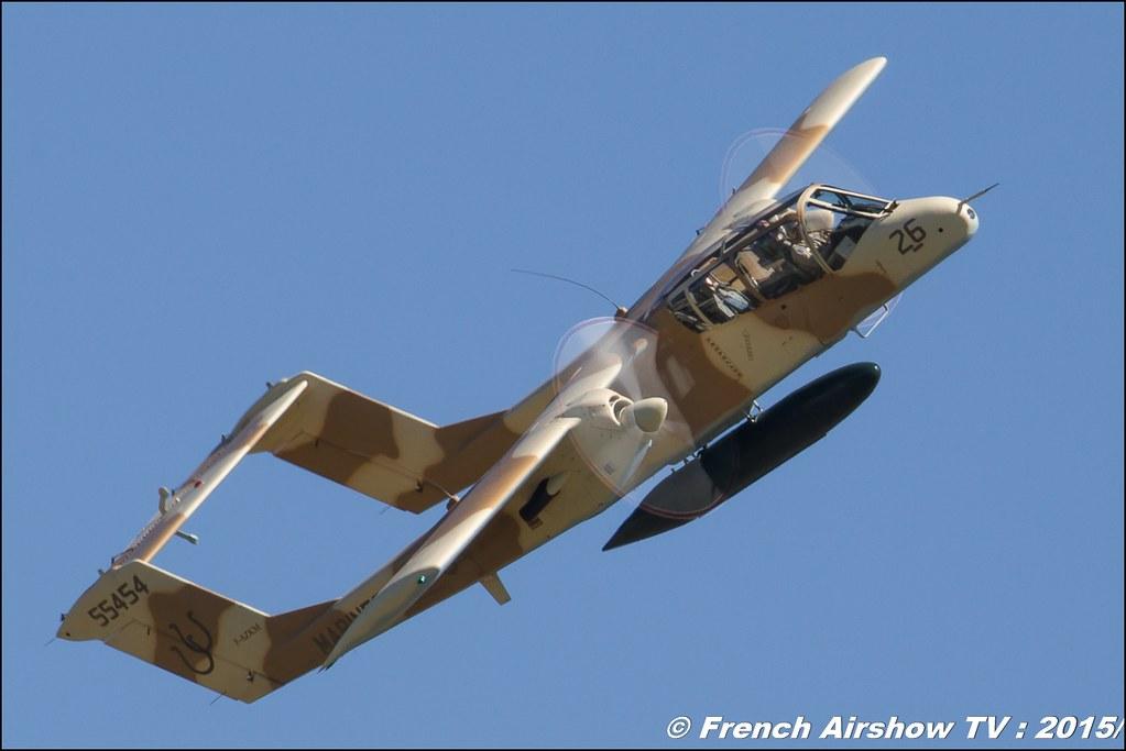 OV-10 Bronco montelimar 2015 ,Alain Bes, F-AZKM, meeting aerien BA-116 Luxeuil St Sauveur LFSX, Meeting Aerien 2015