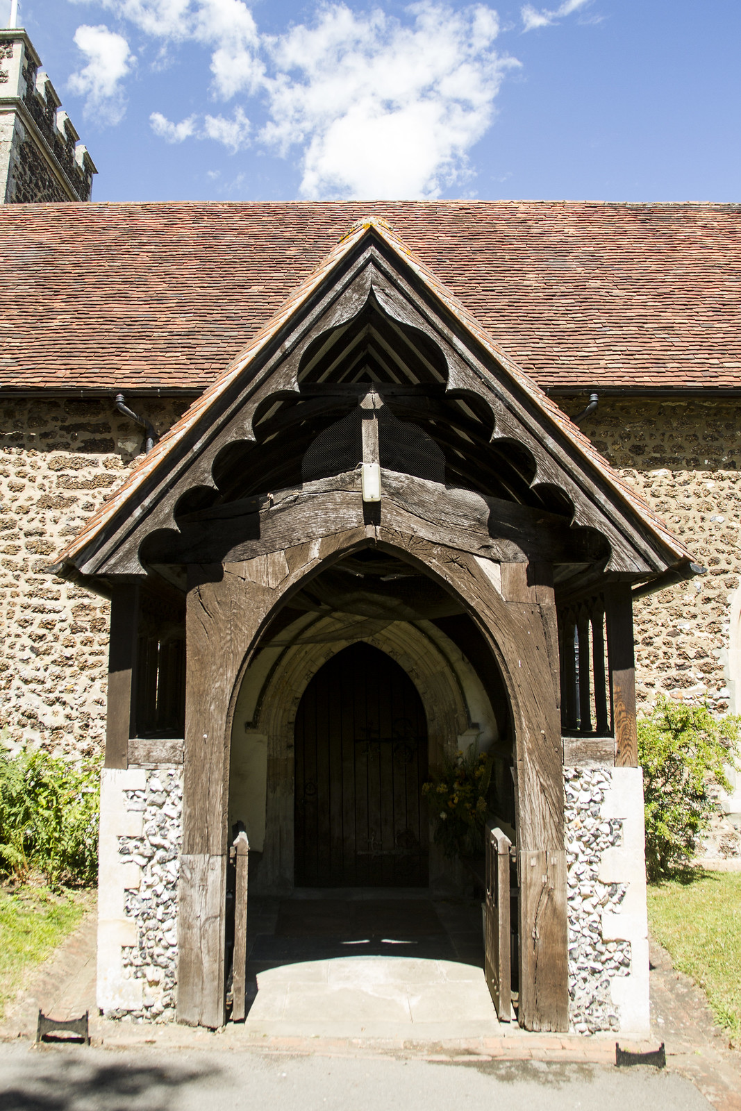 All Saints' entrance