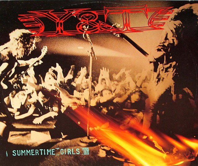 "Y&T SUMMERTIME GIRLS ORIG UK 12"" MAXI-SINGLE VINYL"