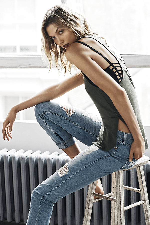 Get The Look Karlie Kloss Fashion Casual Outfit