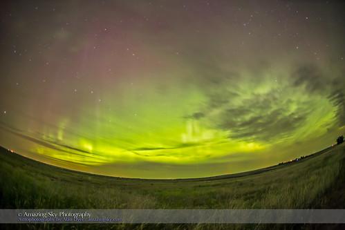 Aurora Across the Northern Sky