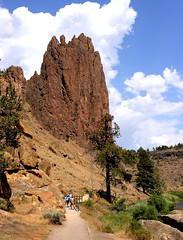 Coming Back from Smith Rock
