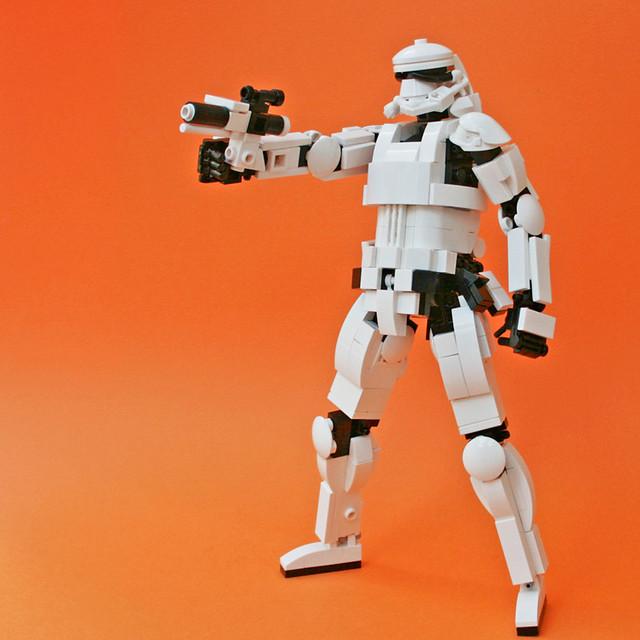 Stormtrooper of episode VII (8 inch), by umamen, on Flickr