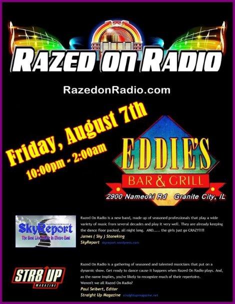 Razed On Radio 8-7-15