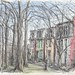 Benton Place - St Louis by Peter Rush - drawings