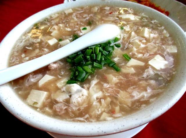 Foochow-style tofu soup