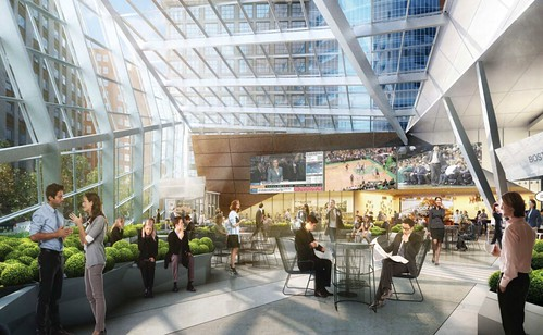 100 Federal Atrium Renderings
