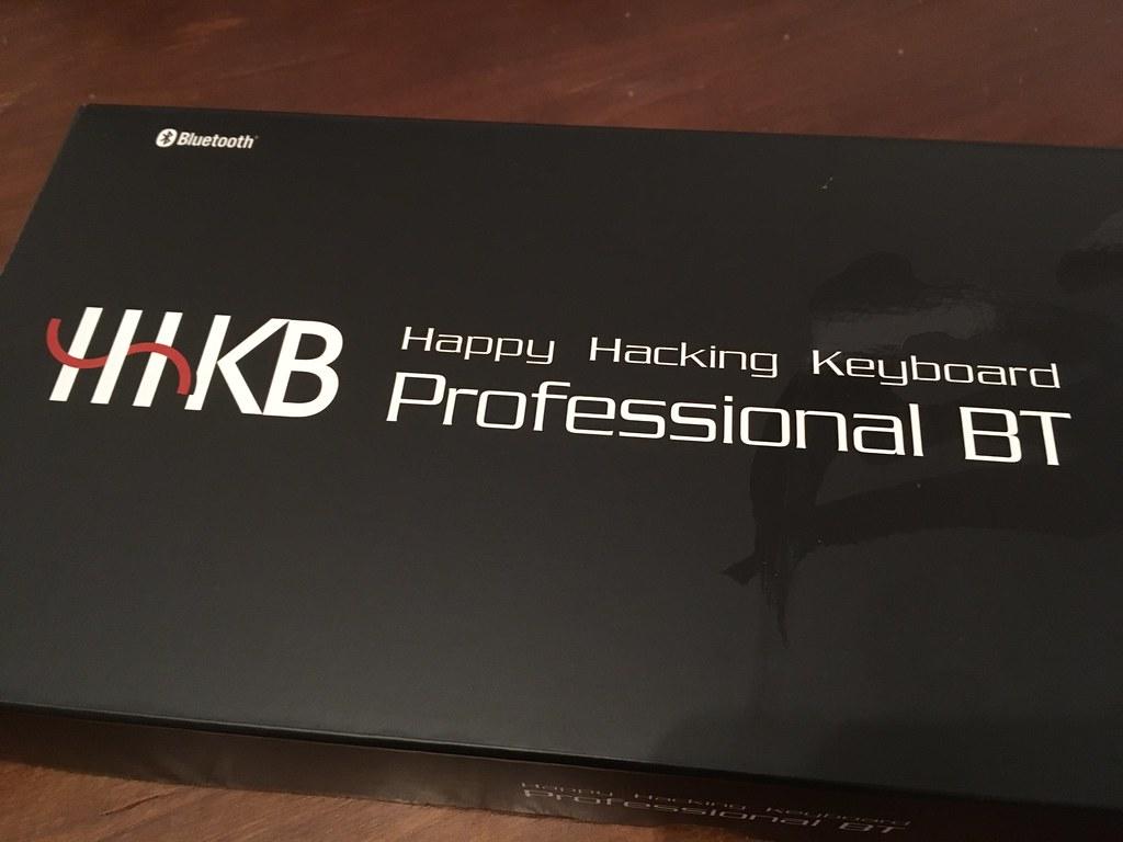 Happy Hacking Keyboard の Bluetooth モデル