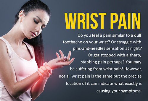 Dealing With Wrist Pain With The Help Of Chiropractic Care