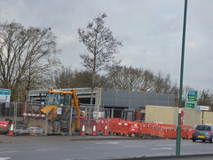 Starbucks Drive Thru construction site - Sir Herbert Austin Way, Northfield