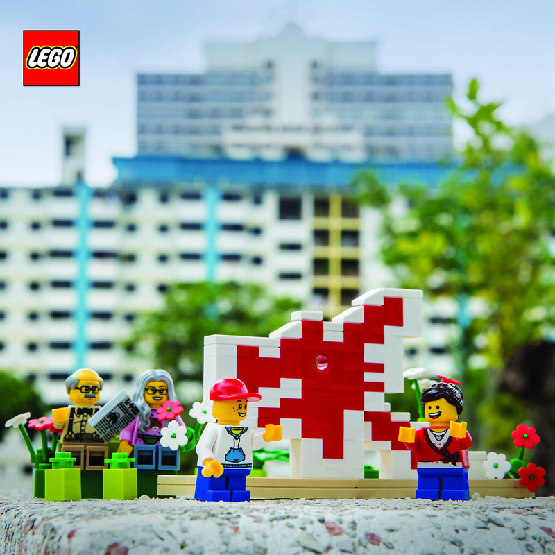 LEGO SG50 Limited Edition Singapore Icons Mini Builds