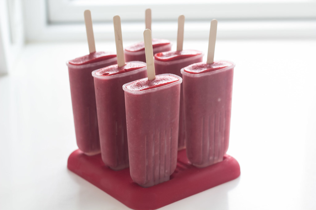 Recipe for Strawberry Popsicle