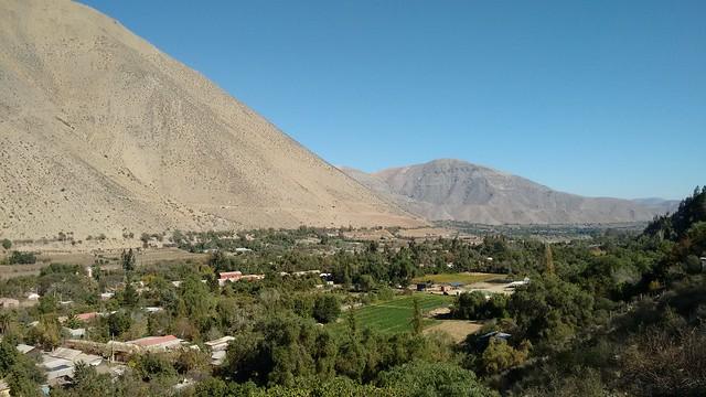 Views from Diaguitas, Valle de Elqui, Chile