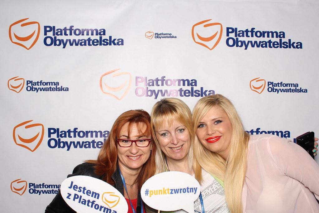 Fotobudka - Konwencja Platformy Obywatelskiej RP, 20.06.2015
