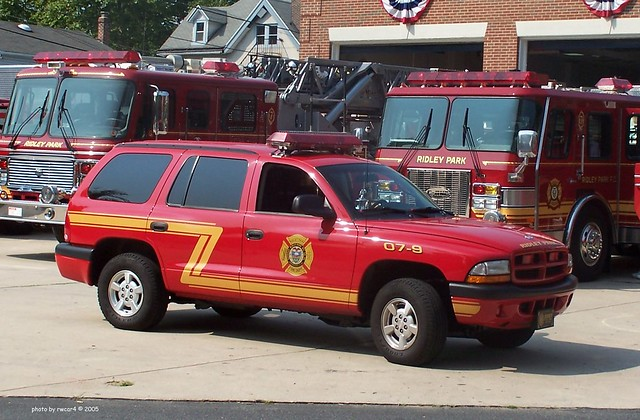 Ridley Park PA Fire Co - 2001 Dodge Durango