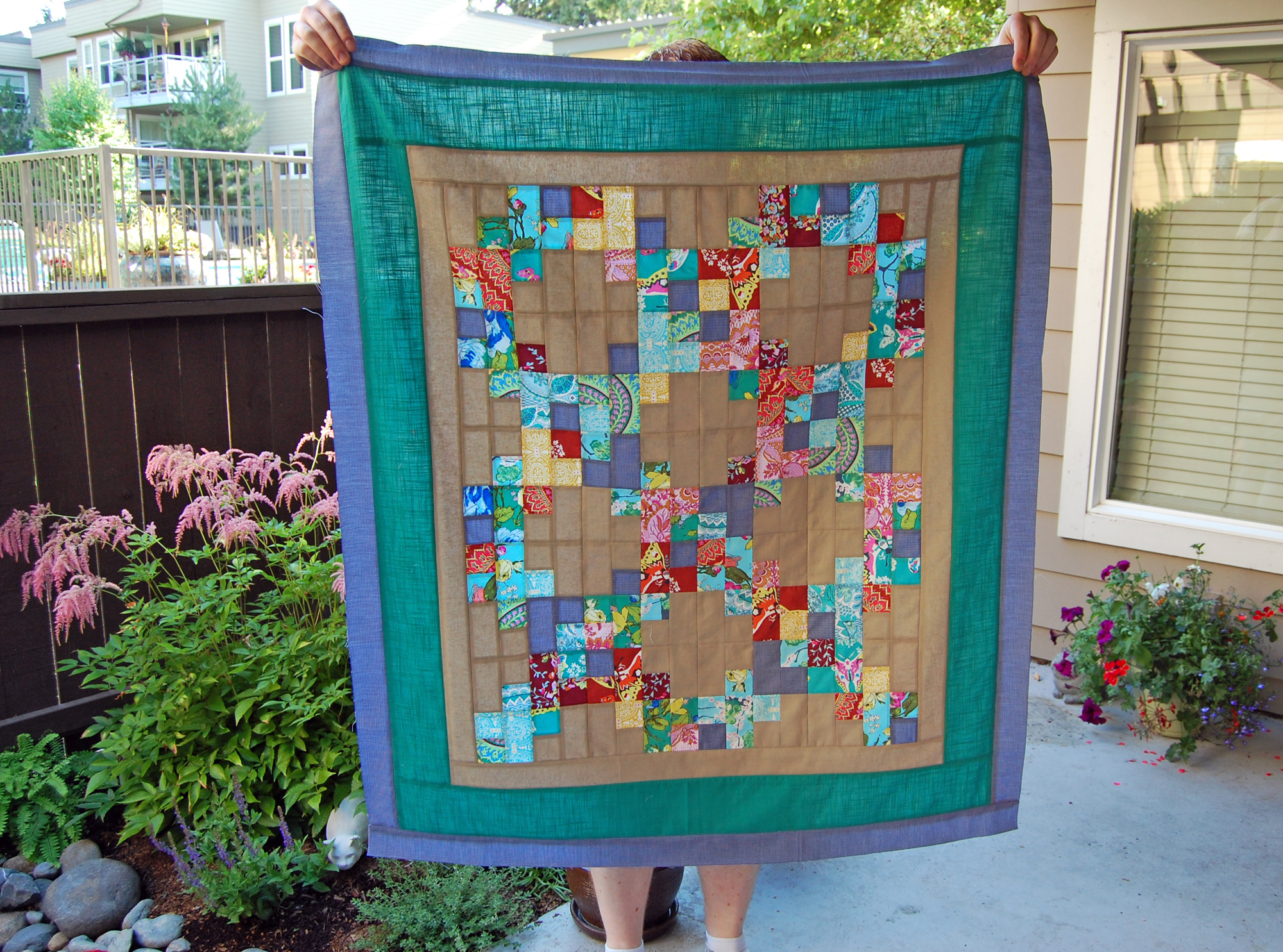 Alchemy Fusion Quilt Top