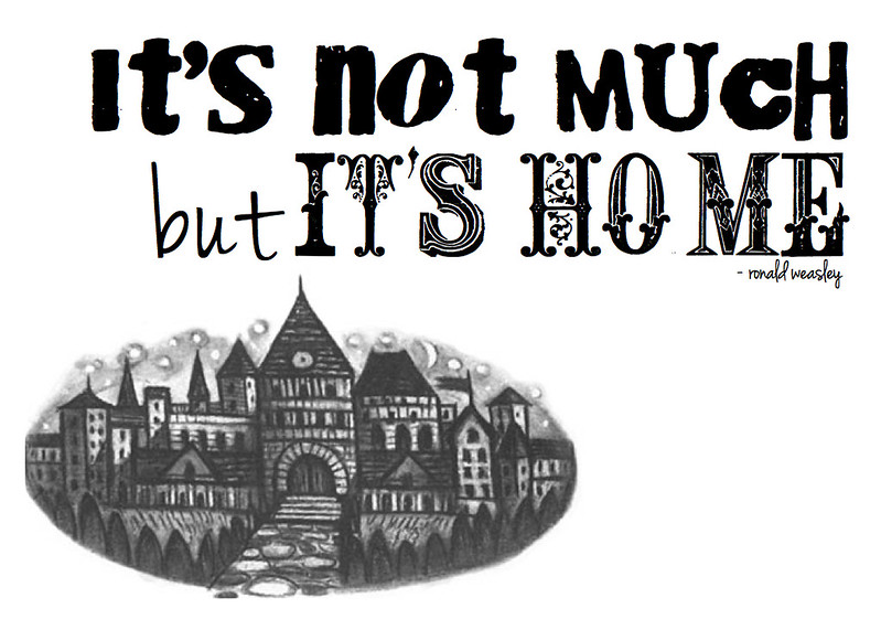 Harry Potter Geeky Print | cookingalamel.com
