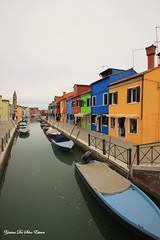 L'île de Burano, Italie