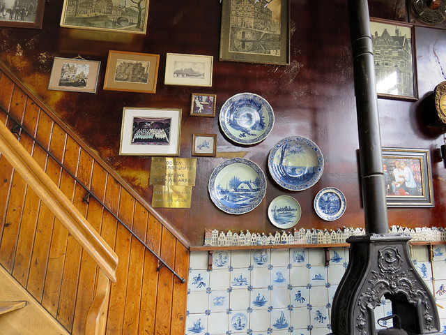 Café Papeneiland, a Brown Café (Historic Pub) in Amsterdam