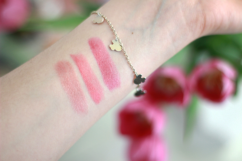 Clinique Kiss The Bride Swatches