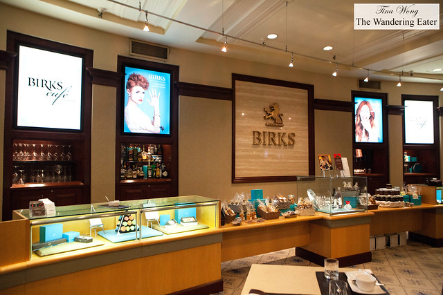 Birks sweets and confection counter