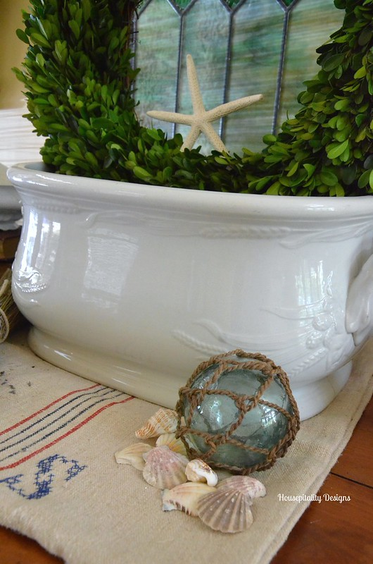 Ironstone Foot Bath-Housepitality Designs