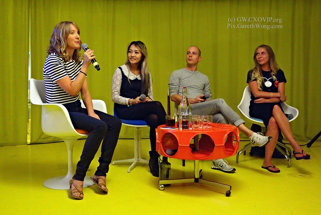 #LifeOnMars panel with @super_collider @LouisaJPreston @asiwanttobe @Space_Mog at @SECONDHOMELDN from RAW _DSC9106
