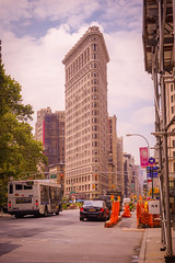 Flatiron Building, Broadway, 23rd Street, Fifth Avenue, Manhattan