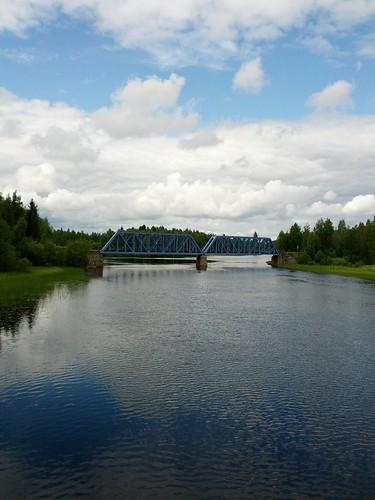 14 km remuntant el riu