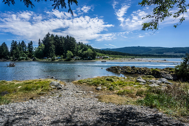 Our goal - Gordon River and glorious view of Port Renfrew