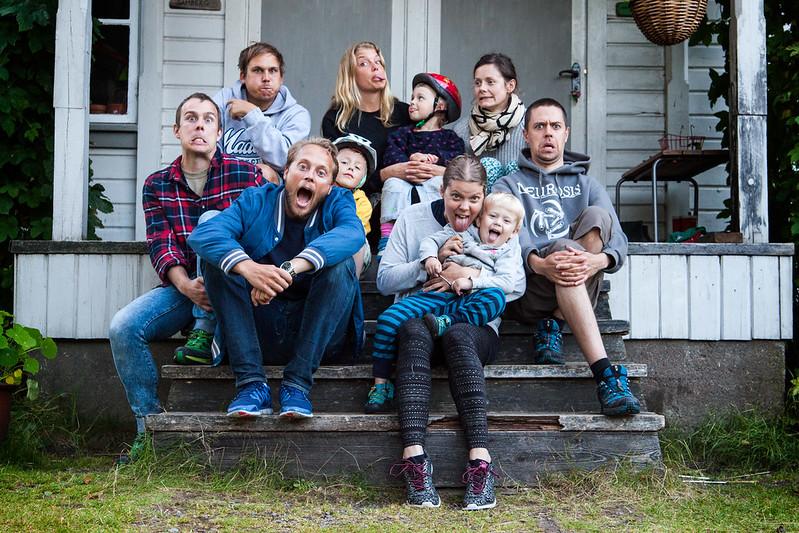 Det är jag och mitt crew