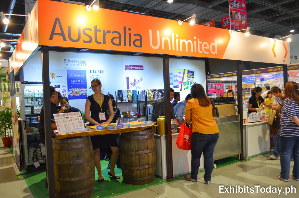 Australia Unlimited Exhibit Booth