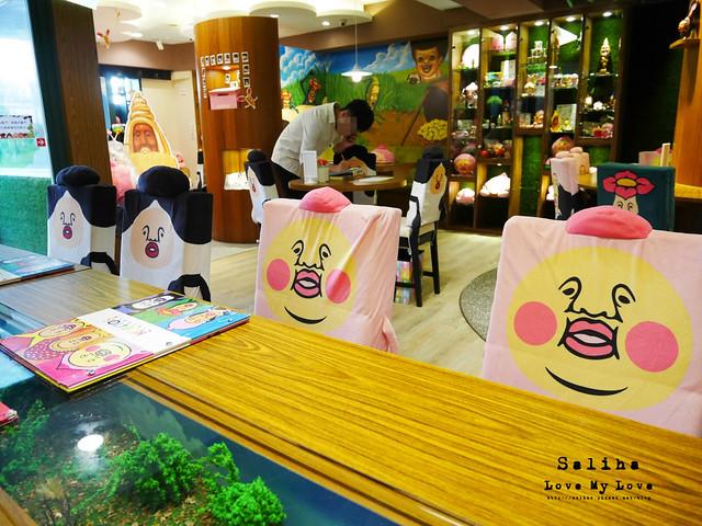台北東區主題餐廳醜比頭的秘密花園輕食咖啡屁桃 (9)