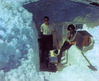Brian May @ Testa Grigia - 1970