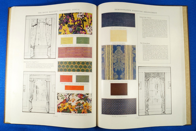 RD1041 1926 The House Beautiful Furnishings Annual Atlantic Monthly Company Interior Design DSC08681