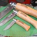 opinel knives by brucesflickr
