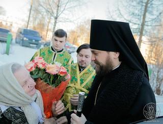 Литургия в в селе Рогавка 180