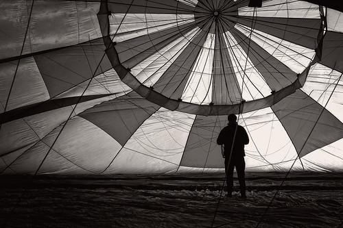 Life inside the balloon