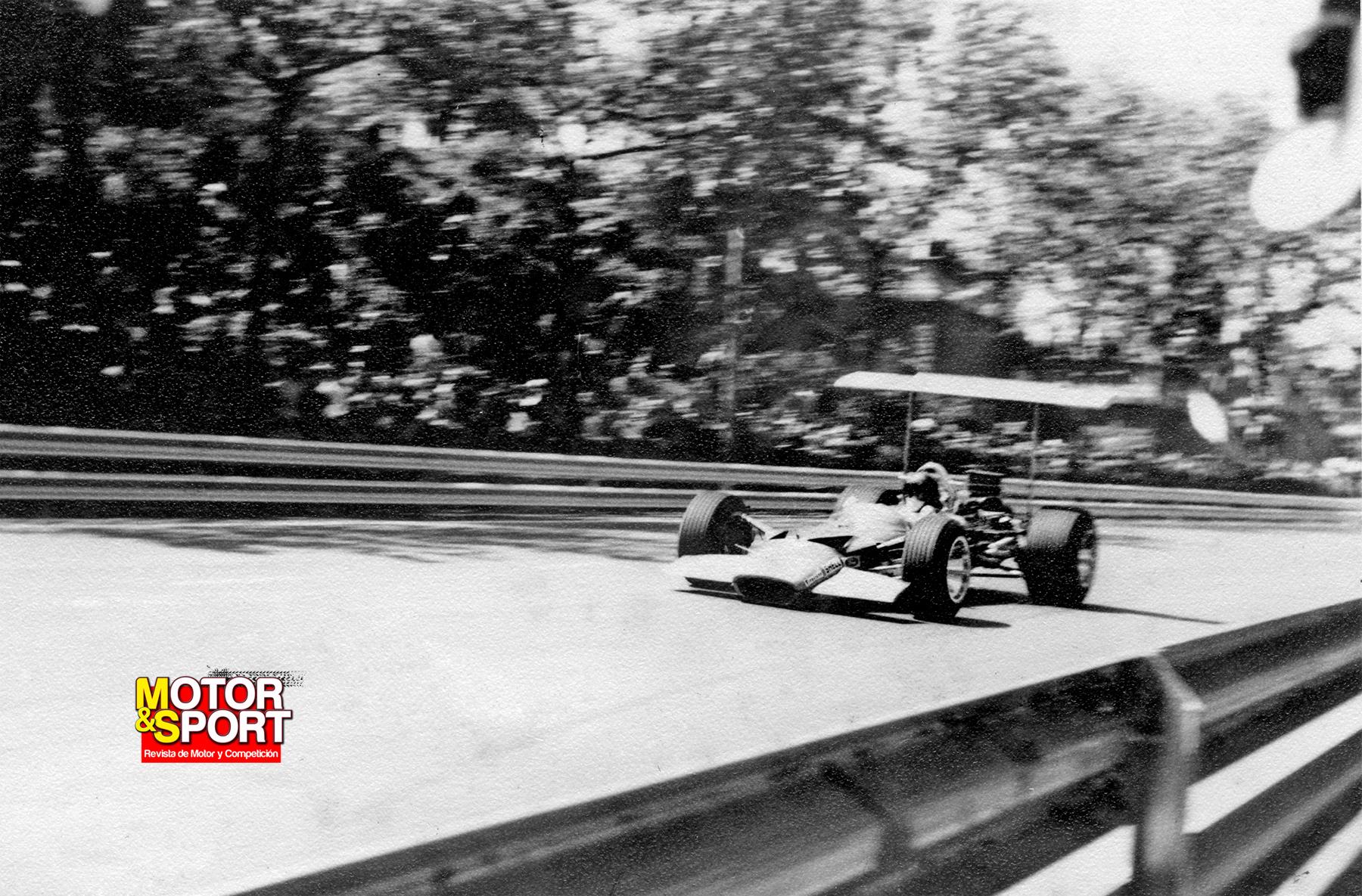 Numero 3. Gran Premio de España de Formula 1 1969 18360764874_f947706b16_o