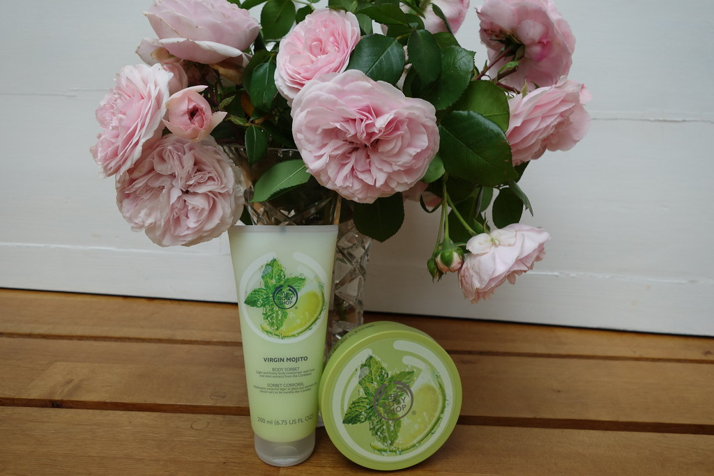 Body Shop Virgin Mojito Range