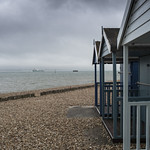 Cowes Roads from Calshot Beach
