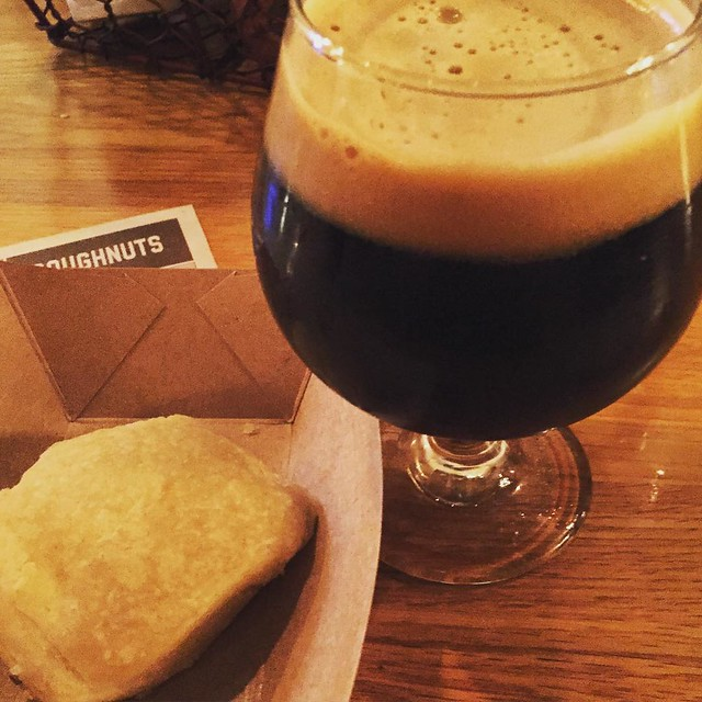 Stout and a biscuit- pretty much all I need