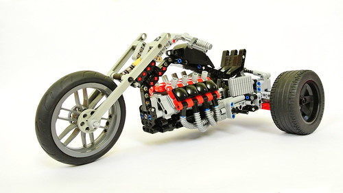 Lego Technic Trike (MOC)
